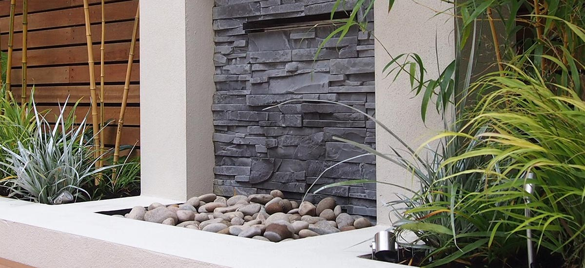 water features in garden design in London and Surrey