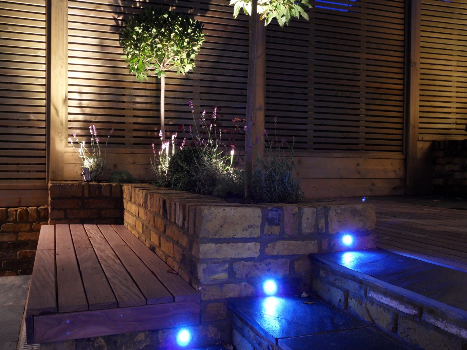 Garden lighting and electrical systems