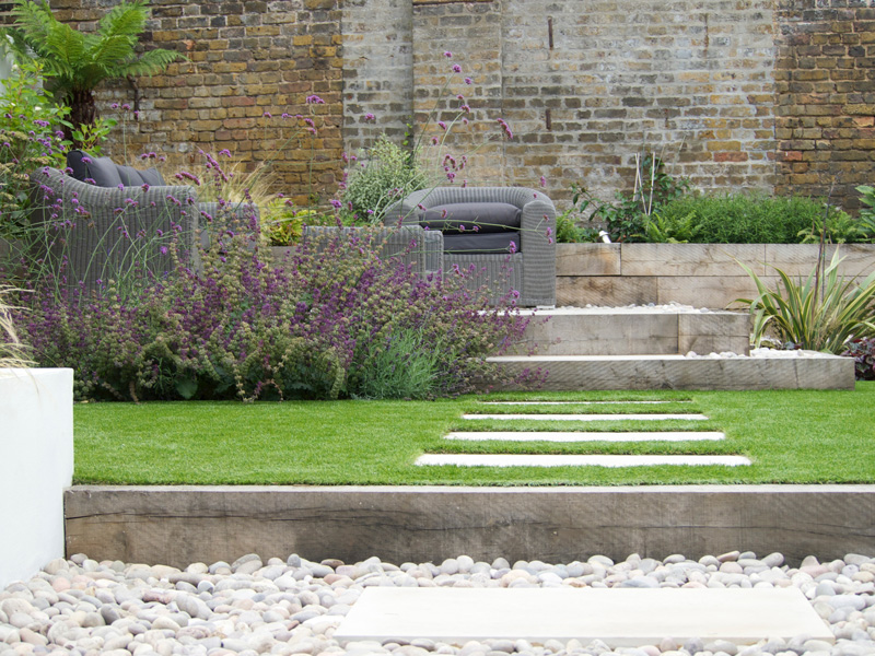 low maintenance Garden design in surrey and west London